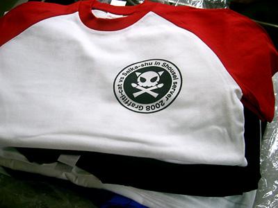グラフィティキャット配布試験用Tシャツ