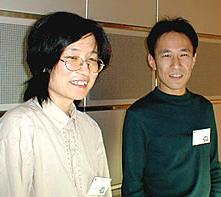 三浦順子さんと長田幸康さん
