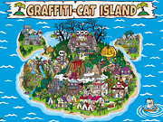 グラ猫壁紙「GRAFFITI-CAT ISLAND」